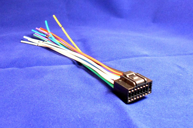 16 Pin KENWOOD KDC-MP202 / KDC-MP2035 Car Stereo Wiring Harness