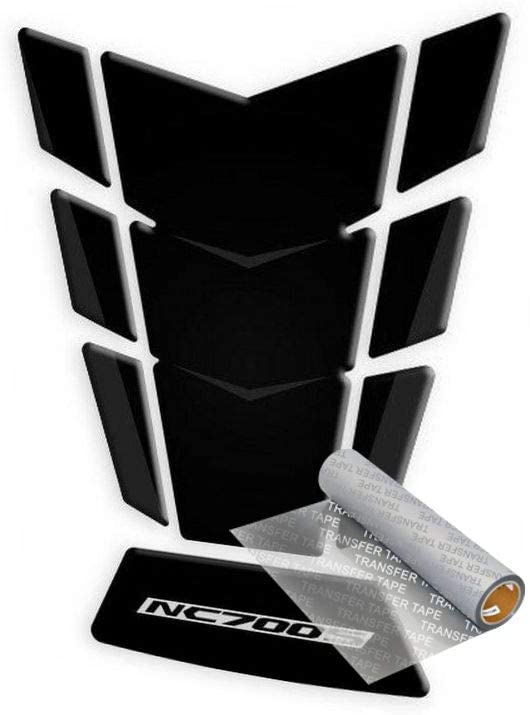 Tankpad for Honda NC 700 S 2012-2013 (Black)