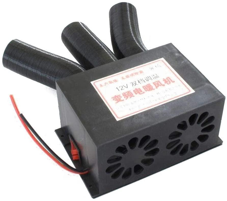 Automotive Air Heater - DC 12V/24V 3 Port Car Heater Defroster Universal DC Car Truck Heater