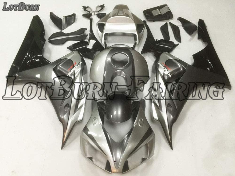 Fairing Fit For Honda CBR1000RR 2006 2007 ABS Plastic Injection Molding Motorcycle Bodywork Fairing Kit Silver Black A31