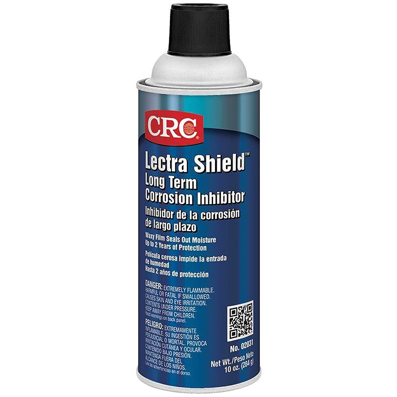 CRC Lectra Shield Long Term Liquid Corrosion Inhibitor, 10 oz Aerosol Can, Dark Amber
