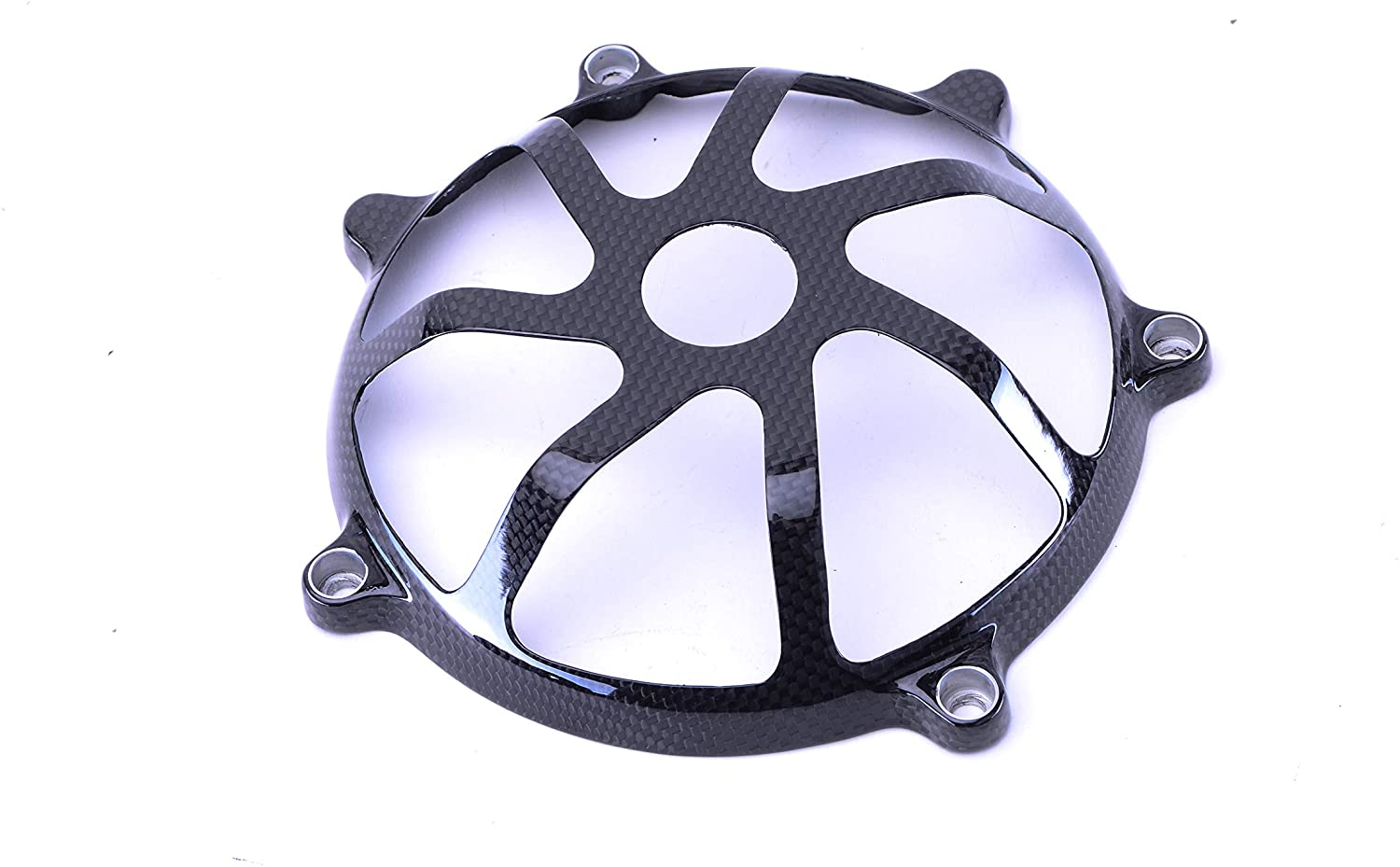 Bestem Carbon Fiber Dry Clutch Cover Open Style for Ducati