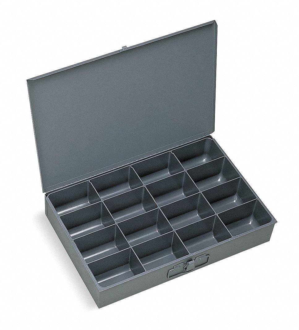 Compartment Box, 9-1/4 in D, 13-3/8 in W