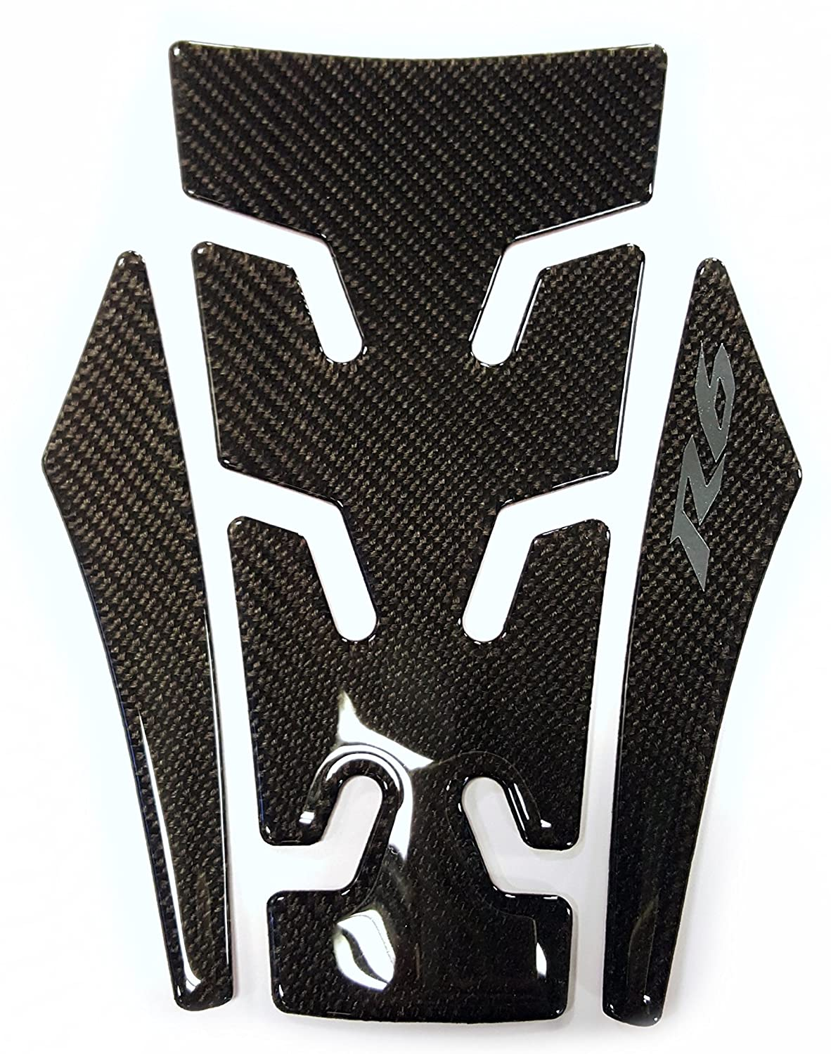 cmds Real Carbon Fiber Motorcycle Tank Protector Pad Sticker for Yamaha YZF R6 R-6 2016 2017 2018