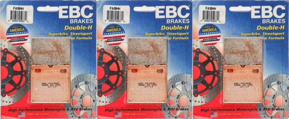 EBC HH Series Front & Rear Brake Pad Combo Kit fits Ducati 750 SS (4 bolt fixing): 1975-1976