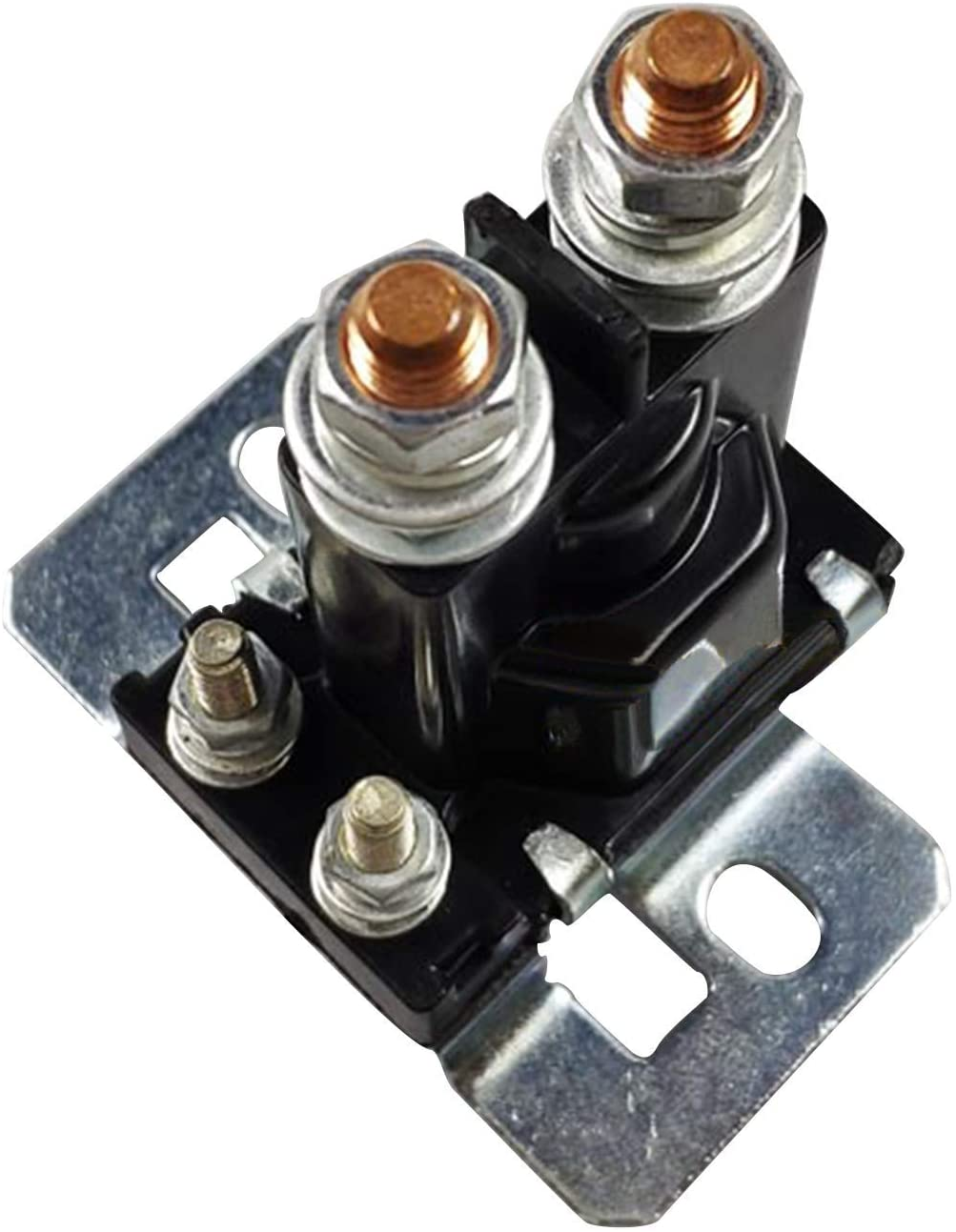 Disen parts 4 Terminals 14 Volt Solenoid with Silver Contacts 27153-G01 612813 784-1411-020-16 for EZGO TXT Gas Golf Carts 4 Cycle 1994-up