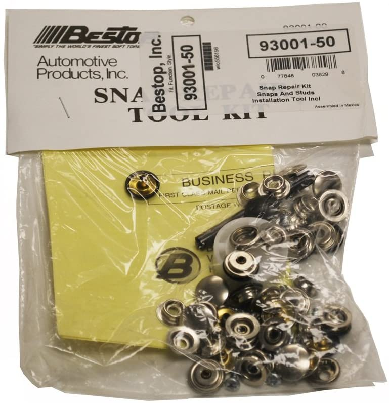 Bestop 93001-50 Snap Repair Kit