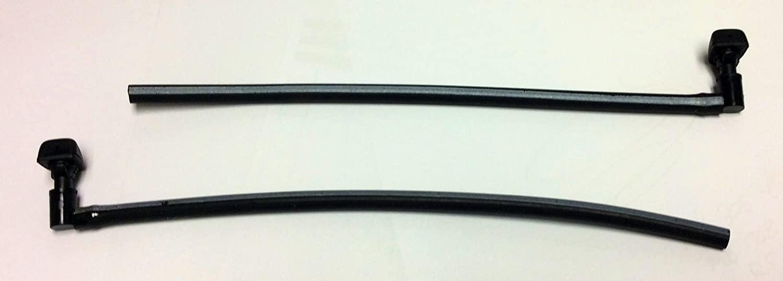 Genuine Mitsubishi Windshield Washer Nozzle Squirter SET MN169829 (QTY 2) Lancer Except EVO 2004 2005 2006 2007