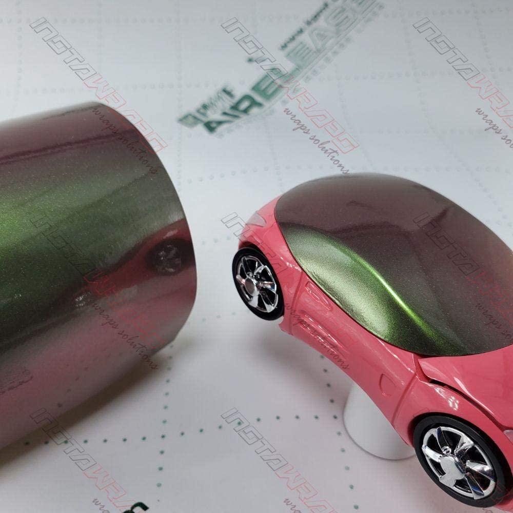 KPMF K75400 Gloss Purple/Green Iridescent | K75464 | Vinyl CAR WRAP Film (Sample 2in x 6in)