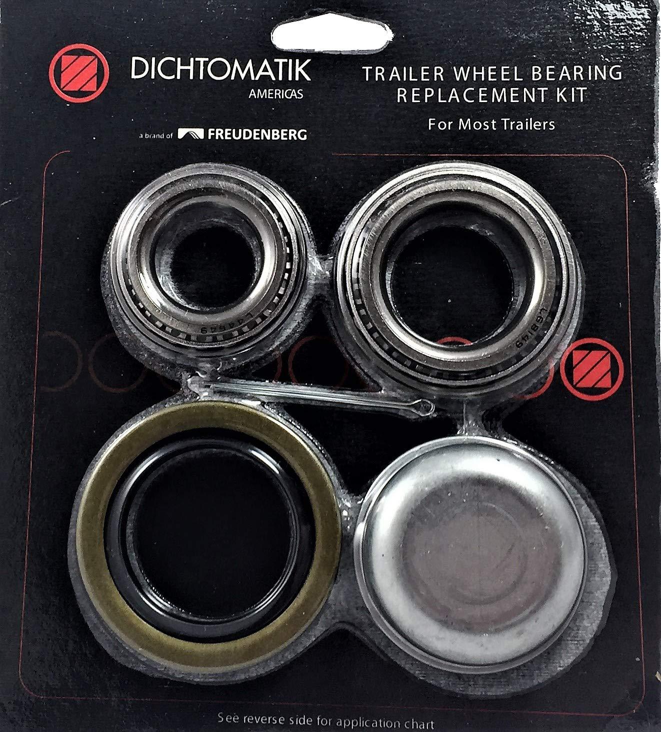 Dichtomatik TK1 Trailer Axle Hub Repair Kit for A 1 Spindle