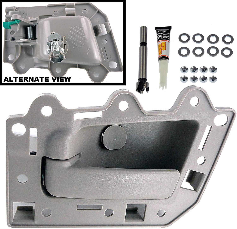 APDTY 143736 Interior Door Handle Replacement Kit All Beige Replaces 1HR371J3AJ