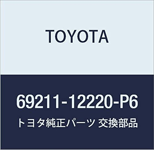 Toyota 69211-12220-P6 Outside Door Handle
