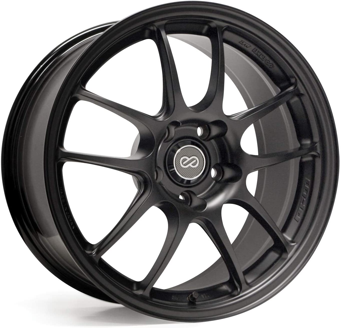Enkei PF01 Racing Series Wheel 18x10.5 5x114.3 47mm Offset Matte Black