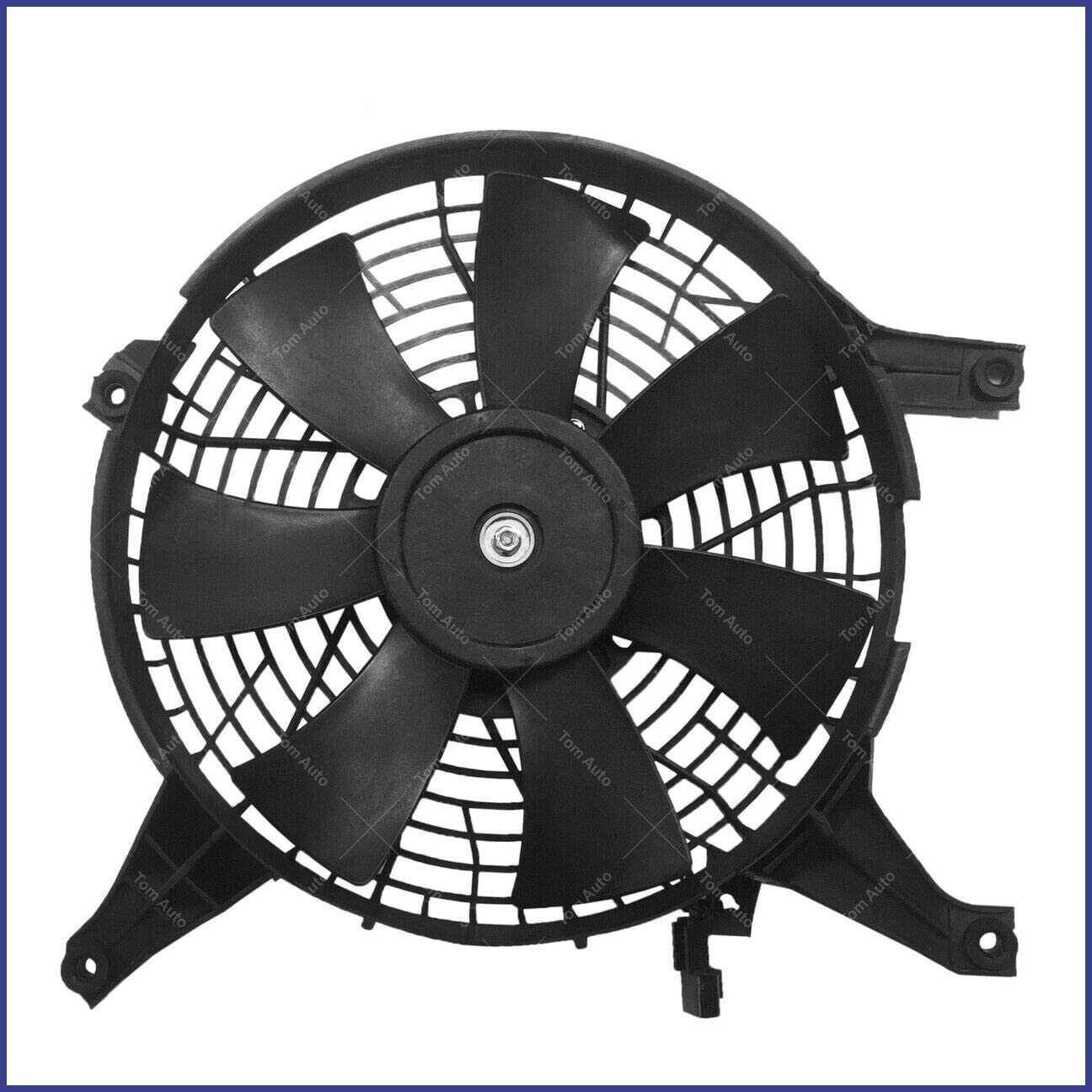 Сompatible for New Radiator Cooling Fan Assembly for Mitsubishi Montero 3.8L V6 2004-2008