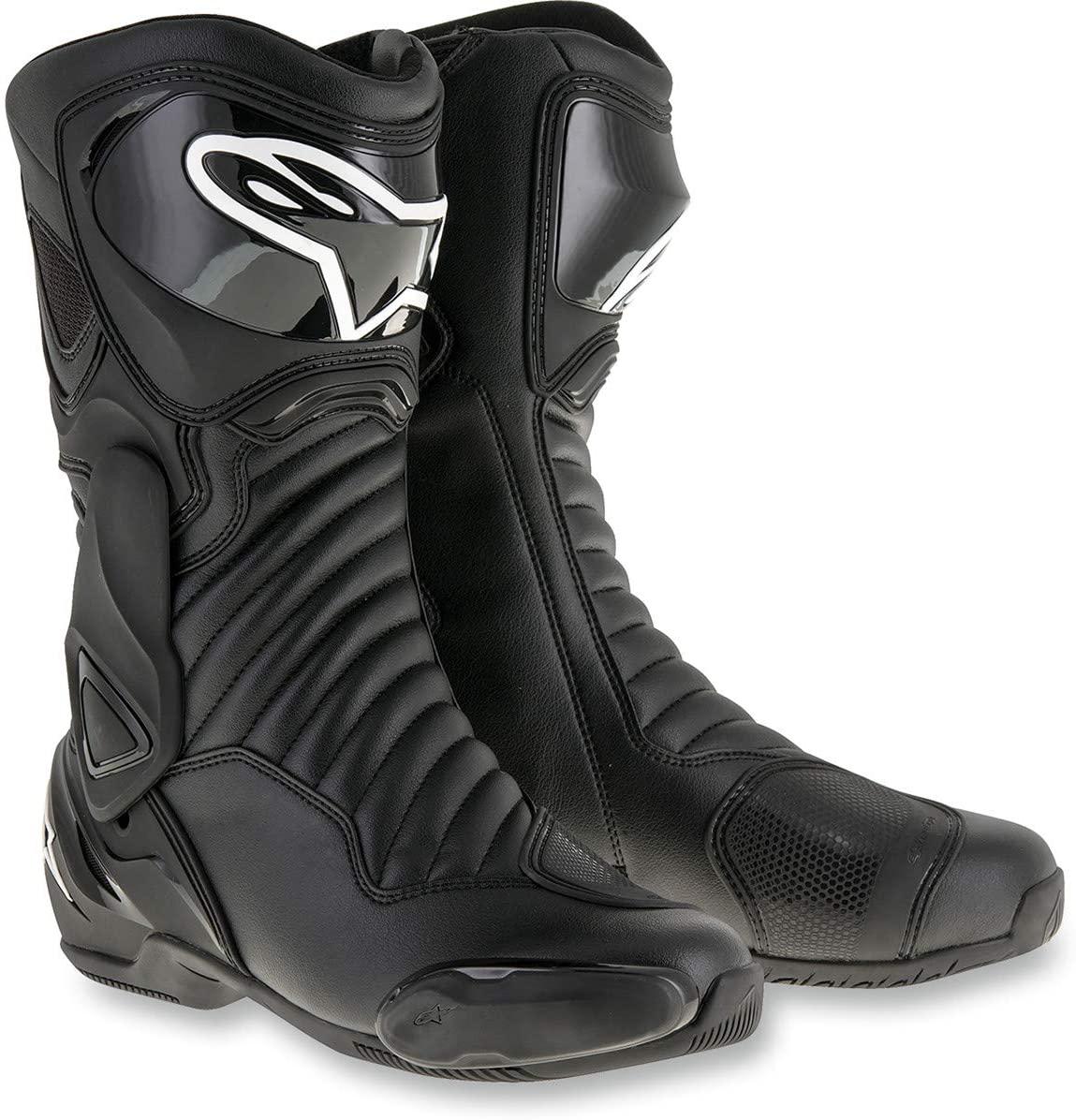 Alpinestars Men's 2223017-1100-50 Boots Black, Size 50