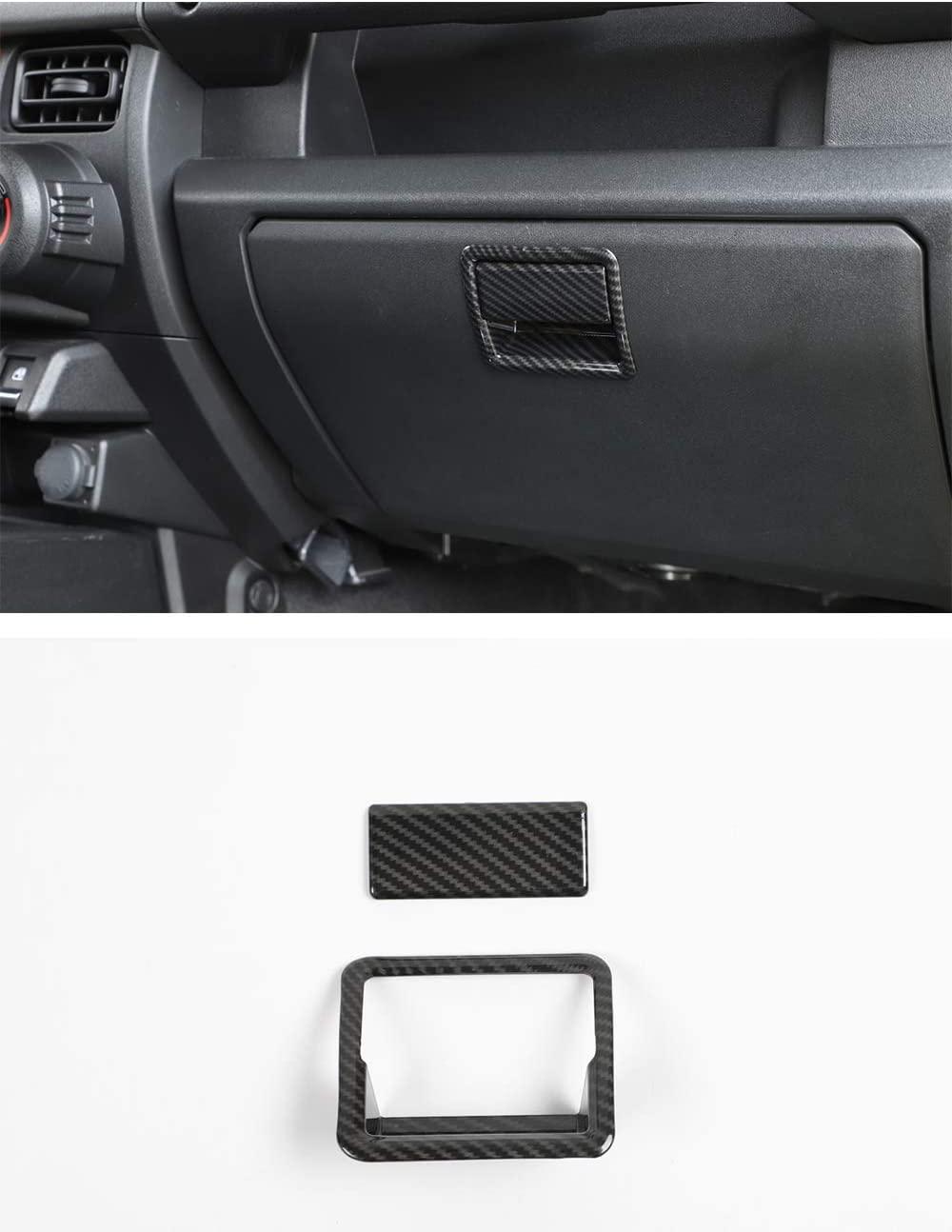 Jimny ABS Car Co-Pilot Glove Box Handle Covers, Storage Box Switch Handle Decorative Cover for Suzuki Jimny 2019-2020