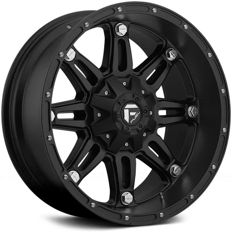 Fuel Offroad Wheels D531 18x9 Hostage 8x170 BD4.50-12 125.2 Matte Black