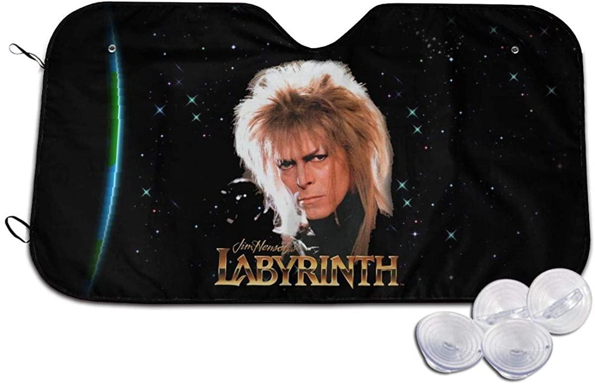 Edgergery Labyrinth Jareth David Bowie Car Sunshades Visor Shield Cover Sun Protection SUV,Van