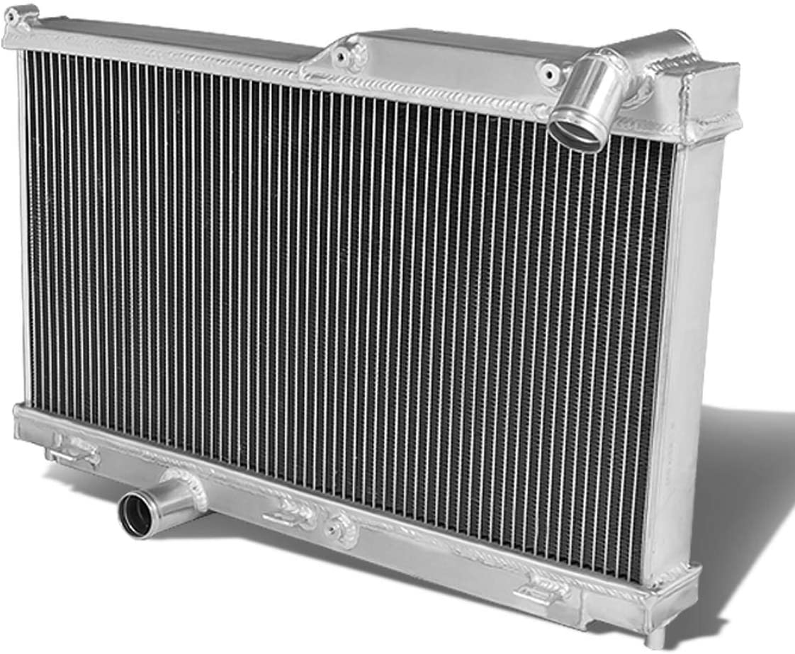Replacement for Mazda RX-7 Full Aluminum 2-Row Racing Radiator - FD FD3S