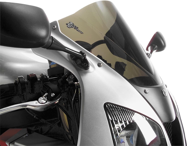 Zero Gravity Double Bubble Windscreen Smoke for Suzuki GSXR 1000 07-08