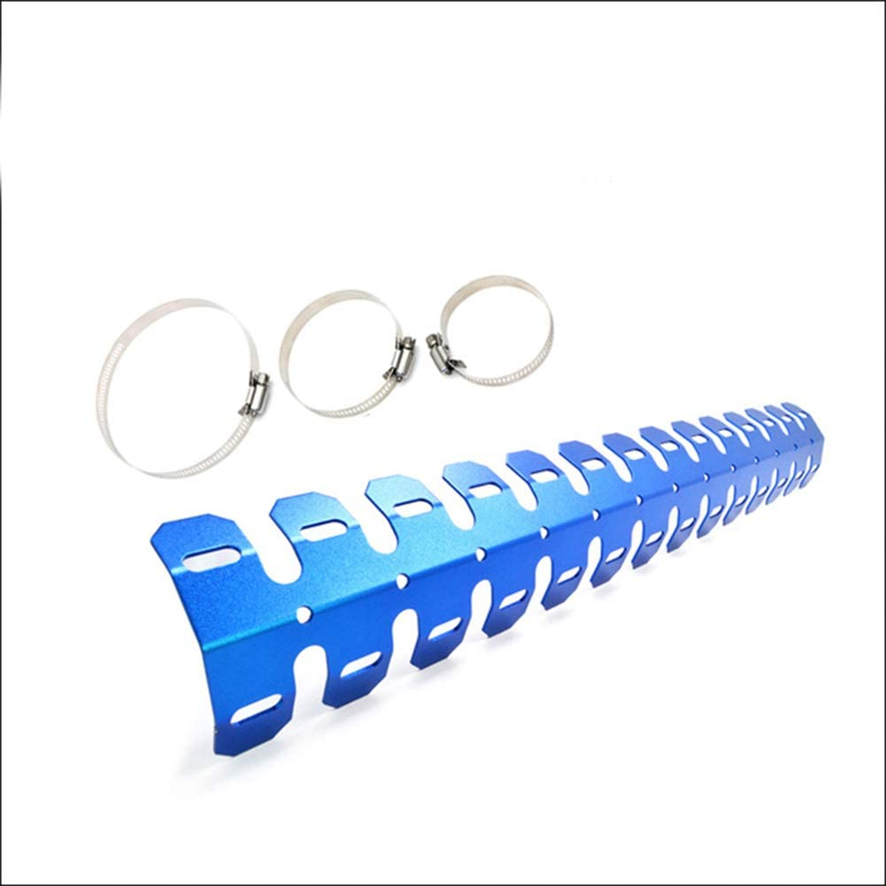 AKDSteel for HON/DA CRF450X CRF250X CRF250L CRF 450X/250LX/250L Motorcycle Exhaust Shield Protector Cover Blue