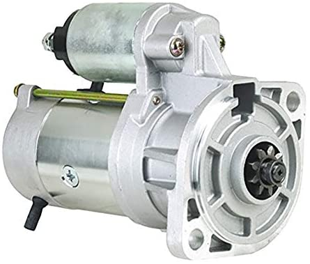 Rareelectrical NEW STARTER COMPATIBLE WITH ISUZU ENGINE S13-33 S13-33A S13-33B S13-123 5811001110 5811001111 5811001112 8944565380