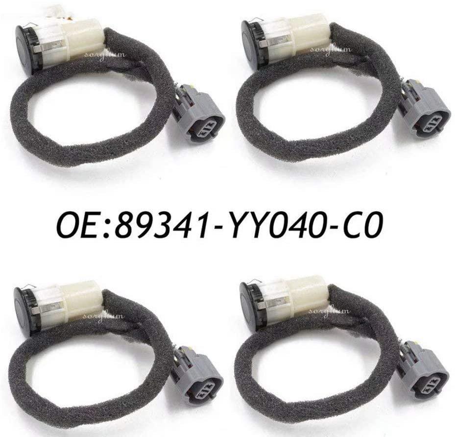 4pcs PDC Reverse Backup Object Sensor OE# 89341-YY040-C0 for Toyota Rav4 Camry 89341-YY040