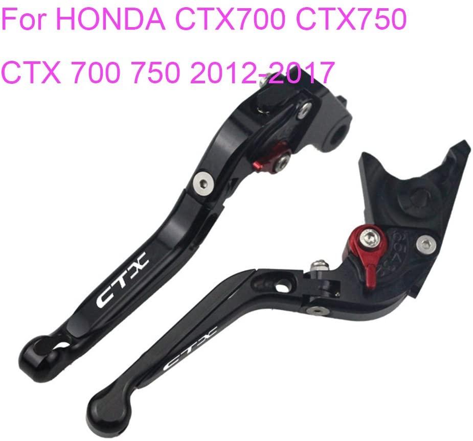 PRO-KODASKIN Folding Extendable Brake Clutch Levers for HONDA CTX700 CTX750 CTX 700 750 2012-2017