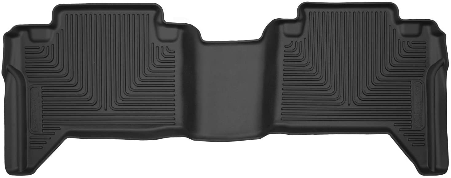 Husky Liners Fits 2005-20 Toyota Tacoma Double Cab with Automatic Transmission X-act Contour 2nd Seat Floor Mat