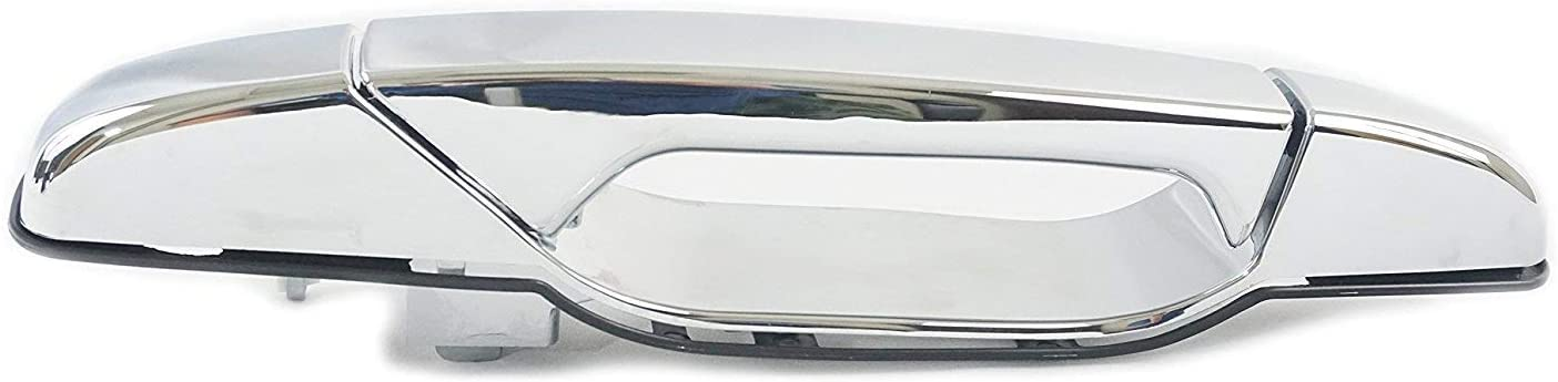Sentinel Parts Exterior Outside Front Right Passenger Side Handle Chrome for 2007-2014 Cadillac GMC Chevy 22738722
