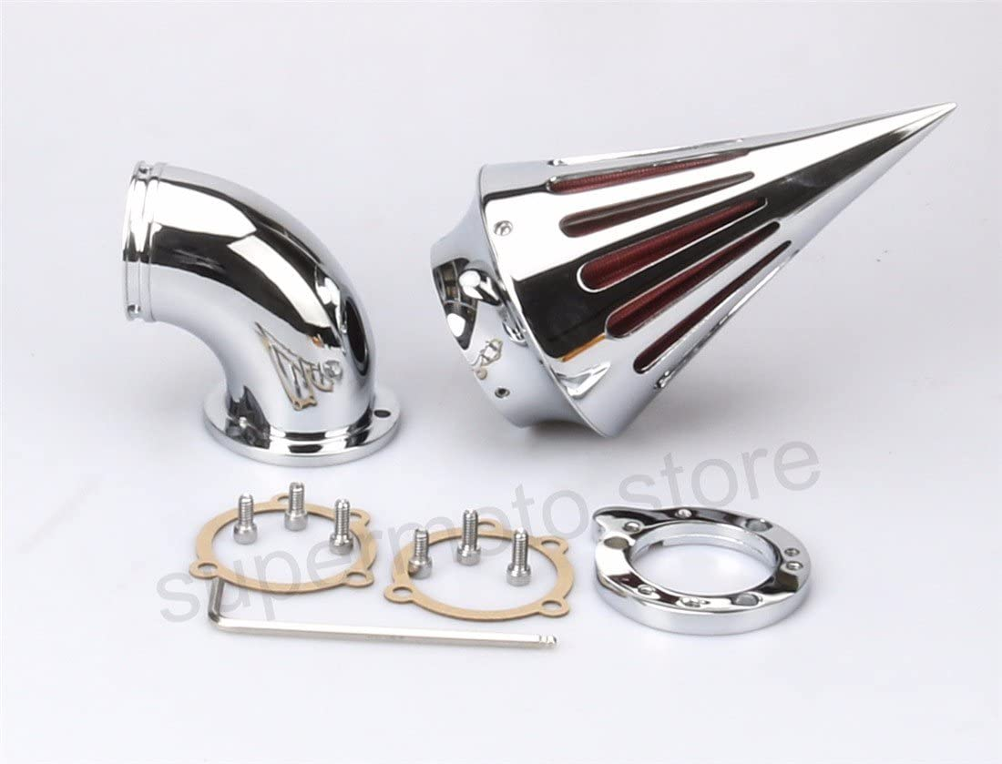 Motorcycle Spike Air Cleaner harley CV Carburetor air Intake system Harley sportster air filter S&S Carburetors chrome
