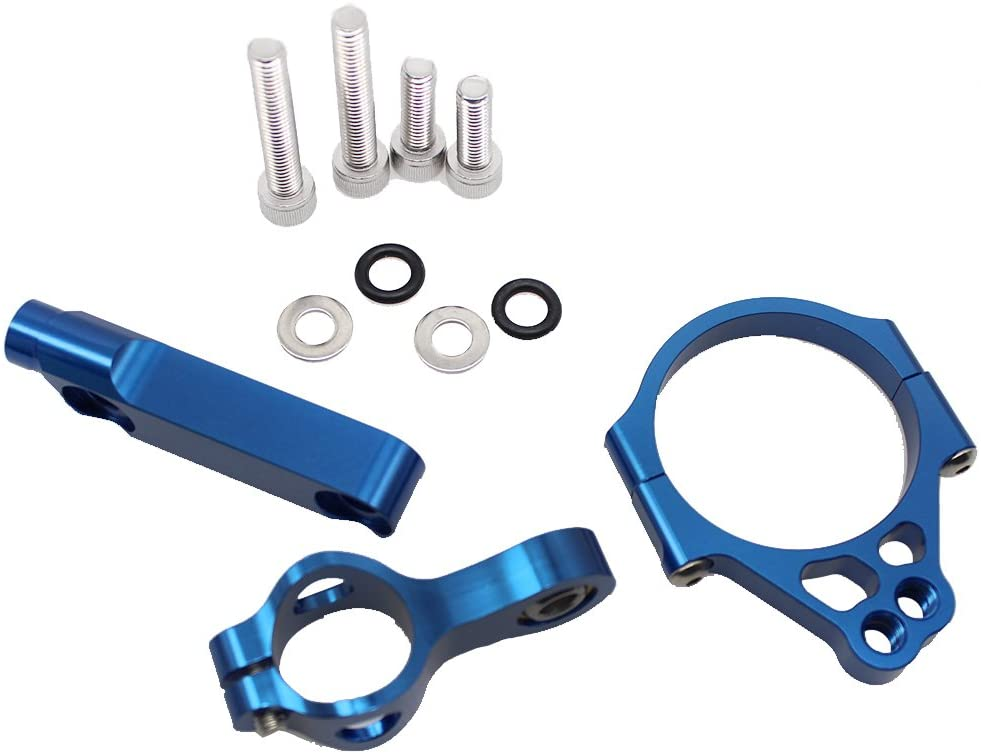 FXCNC Racing Motorcycle CNC Steering Damper Stabilizer Buffer Mounting Bracket Kit Fit For KAWASAKI VERSYS 1000 2012 2013 2014 2015 2016