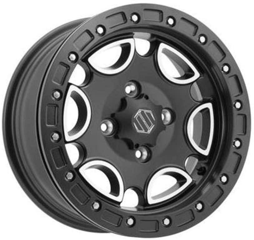 Hiper Technology Falcon Wheel - 14x6-4+2 Offset - 4/137 - Machined/Black