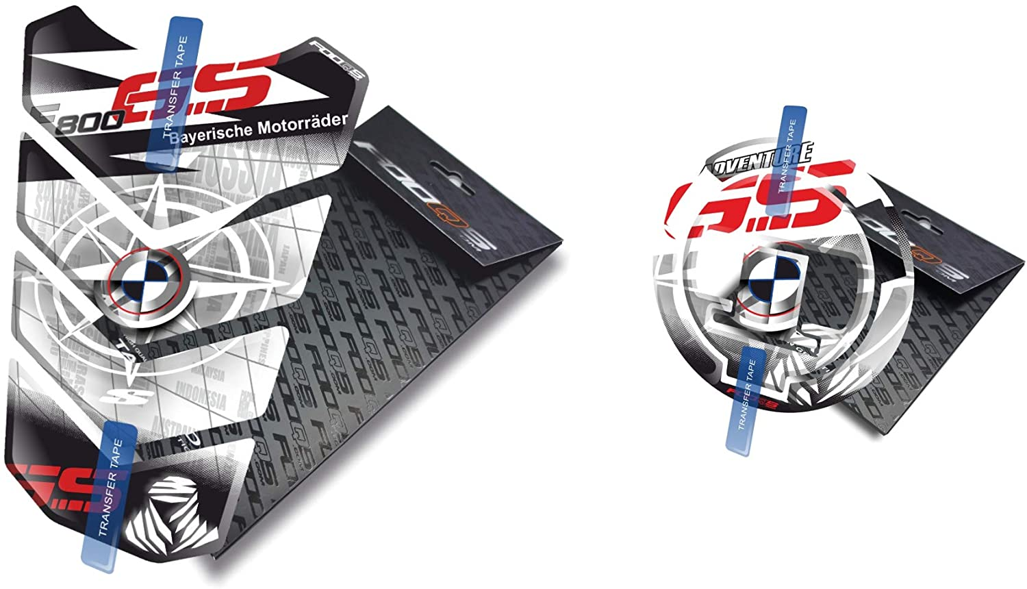 Tankpad and Cappad for F800 GS (White)