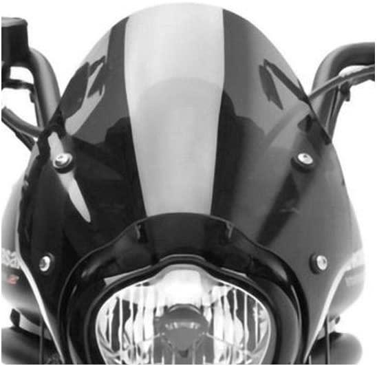 Genuine Kawasaki Accessories Fixed Cafe Deflector (Black Smoke) for 15-20 Kawasaki EN650SA