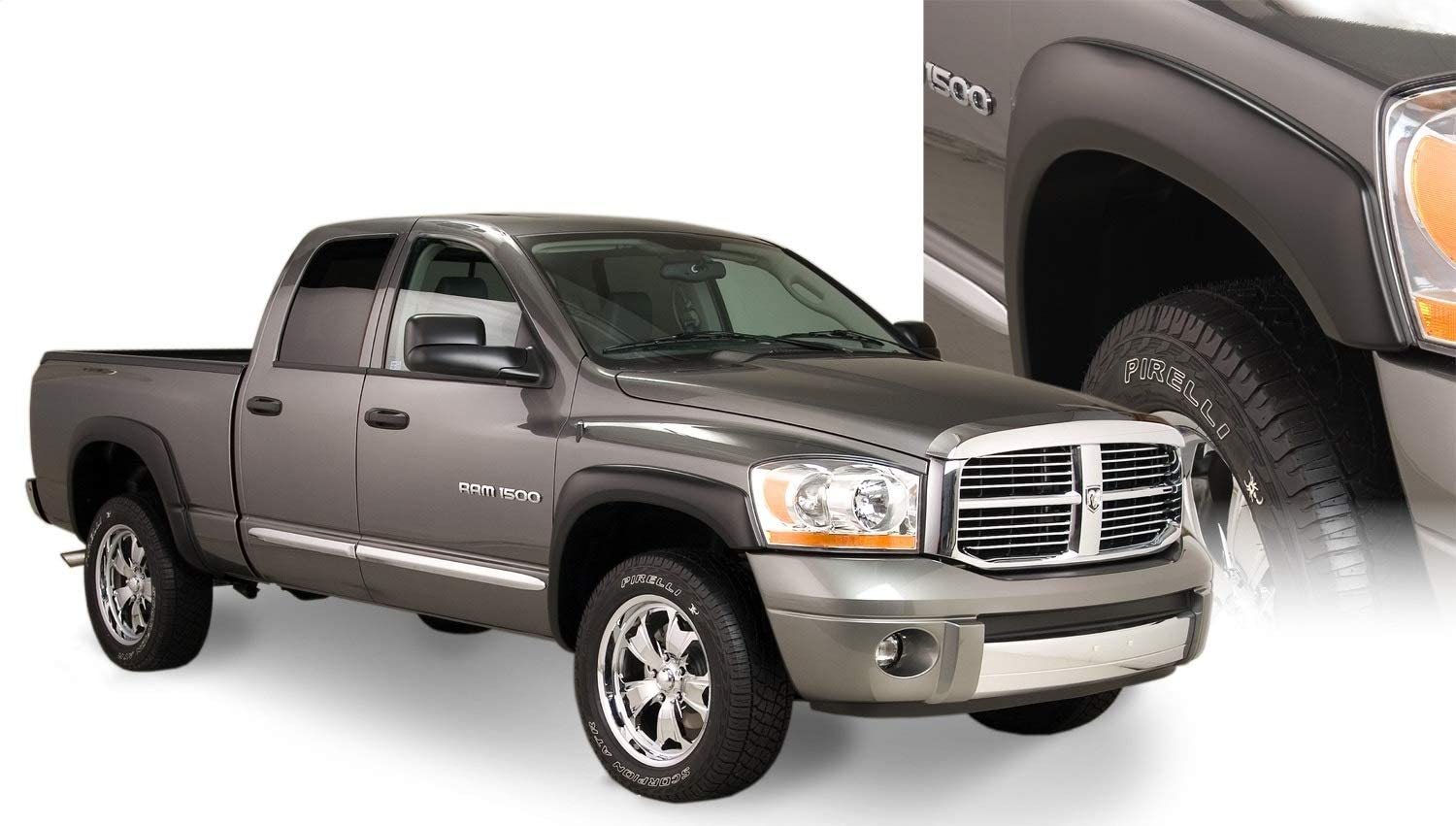 Compatible With/Replacement For Compatible With/Replacement For Bushwacker (B/W-ZPA-032) OE Style Fender Flares - Fits 3500 2010-2011