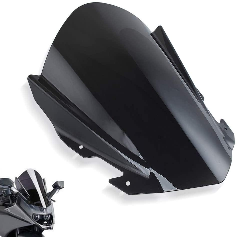 psler Motorcycle Windshield WindScreen For KTM RC125 RC200 RC390 2014-2018 (Not fit KTM 390 Duke)