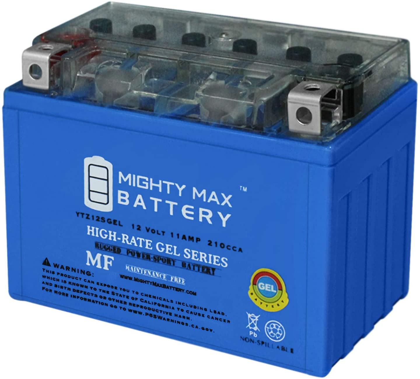 Mighty Max Battery 12V 11AH 210CCA Gel Battery for Honda 700 NC700X 2012-2014 Brand Product