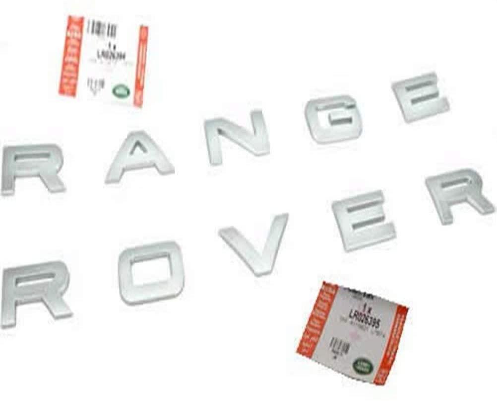 NaNa-AUTO Front Hood Name Plate LR026394 for RANGE ROVER RANGE EVOQUE