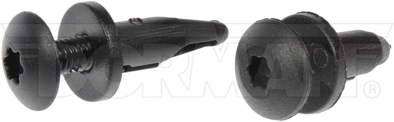 Dorman 961-040D GM Push Retainer Assortment, Black (6 Piece)