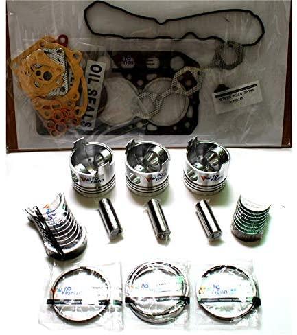 3TNV70 piston kit with ring set gasket kit for Yanmar diesel engine parts