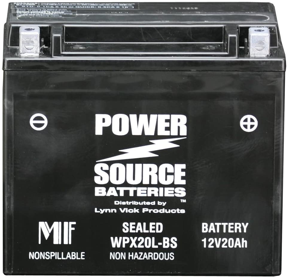 PowerSource 01-352 WPX20L-BS Sealed Battery