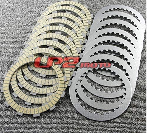 DE.SOUL Clutch Plates Discs for Honda VT1100 Shadow ACE Sabre Aero Spirit Tour 1995-2007