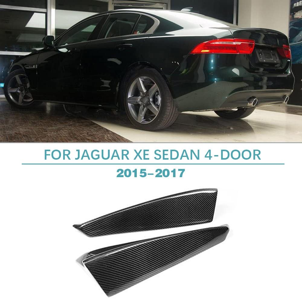 Jun-star Carbon Fiber Rear Bumper Lip Splitter fits Jaguar XE 2015-2017