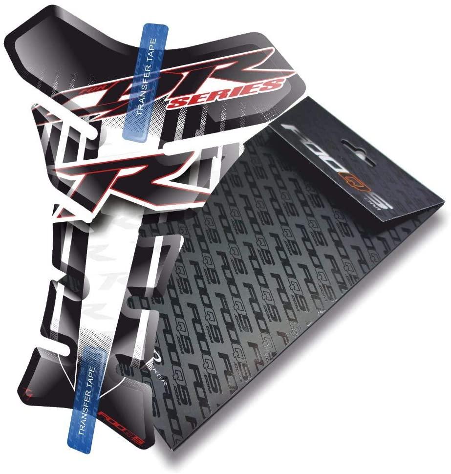 Fooqs Tankpad for Honda CBR Cbr600rr 600rr 600 rr cbr1000rr 1000rr 1000 Cbr600f 600f (White)