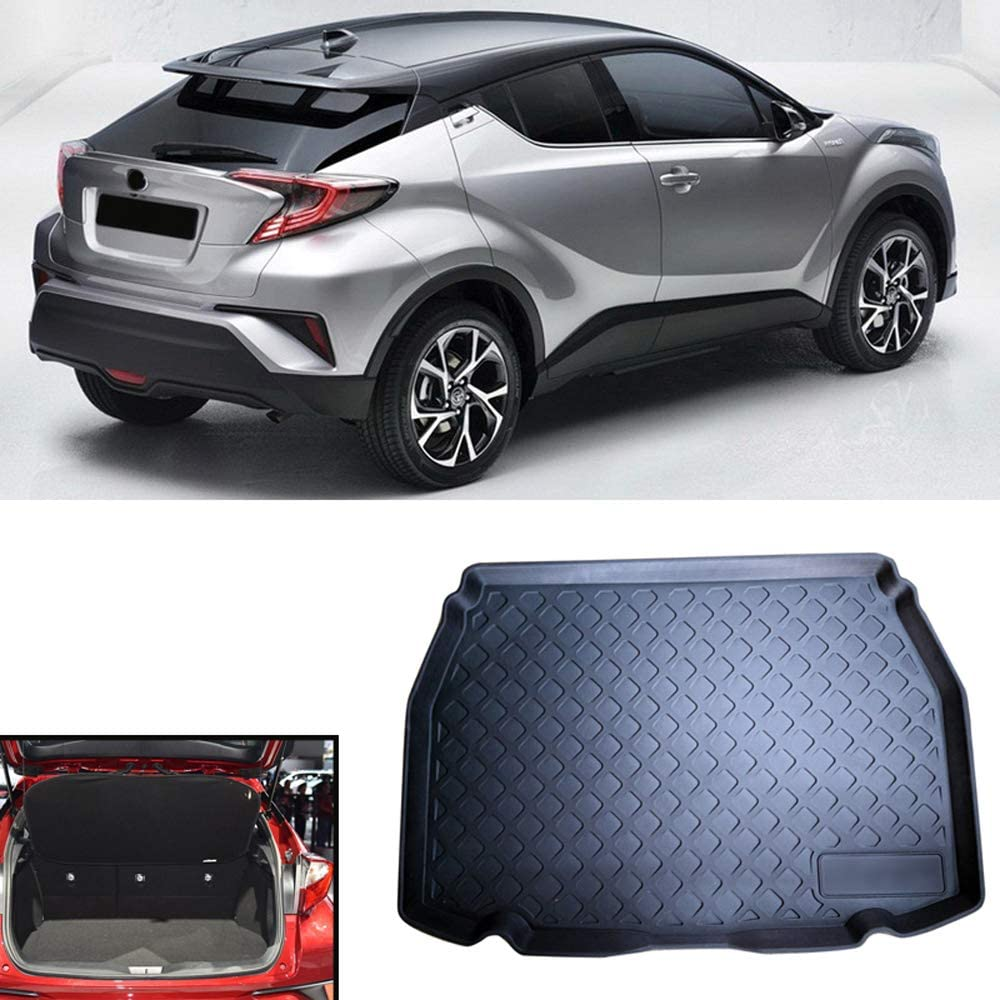 HIGH FLYING 2016 2017 2018 2019 for Toyota C-HR Interior Accessories Car Boot Pad Cargo Liner Floor Mat Protect