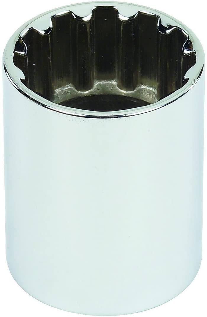 Stanley Proto J5424SPL 1/2-Inch Drive Spline Socket, Number-24, 3/4-Inch