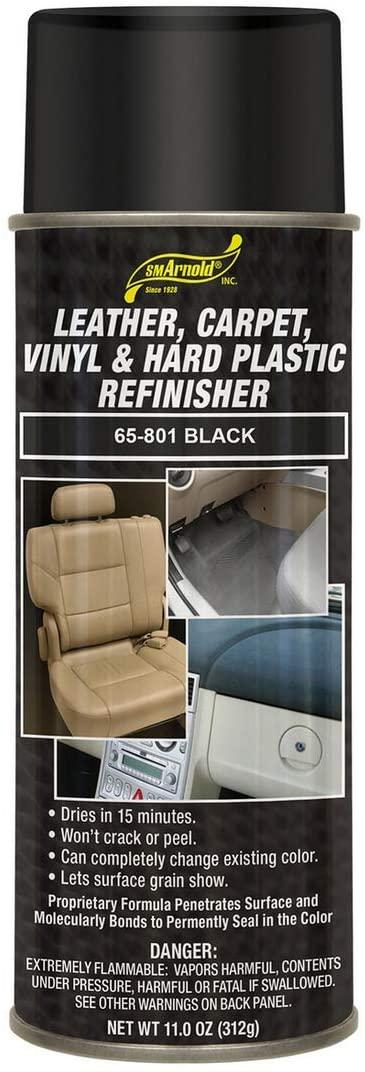 Leather, Carpet, Vinyl & Hard Plastic Refinisher - Black [65-801]