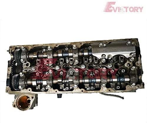 for D-max Excavator 4JJ1 4JJ1X Cylinder Head + camshaft