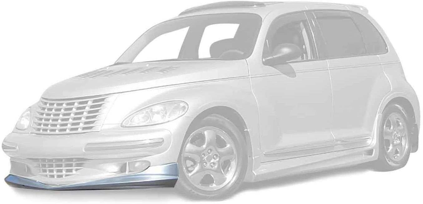 KBD Body Kits Compatible with Chrysler PT Cruiser 2001-2005 Bomb Style 1 Piece Flexfit Polyurethane Front Lip. Extremely Durable, Easy Installation, Guaranteed Fitment, Made in the USA!